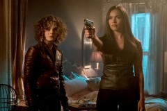 "GOTHAM: L-R: Camren Bicondova and Jessica Lucas in ""The Fear Reaper"" episode of GOTHAM airing Thursday, Sept. 28 (8:00-9:01 PM ET/PT) on FOX. ©2017 Fox Broadcasting Co. Cr: Jeff Neumann/FOX."