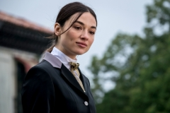 "GOTHAM: Crystal Reed in ""A Dark Knight: They Who Hide Behind Masks"" episode of GOTHAM airing Thursday, Oct. 5 (8:00-9:01 PM ET/PT) on FOX. ©2017 Fox Broadcasting Co. Cr: Jeff Neumann/FOX."