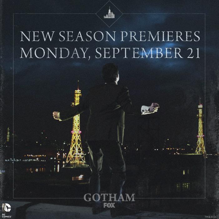 Gotham premiere date