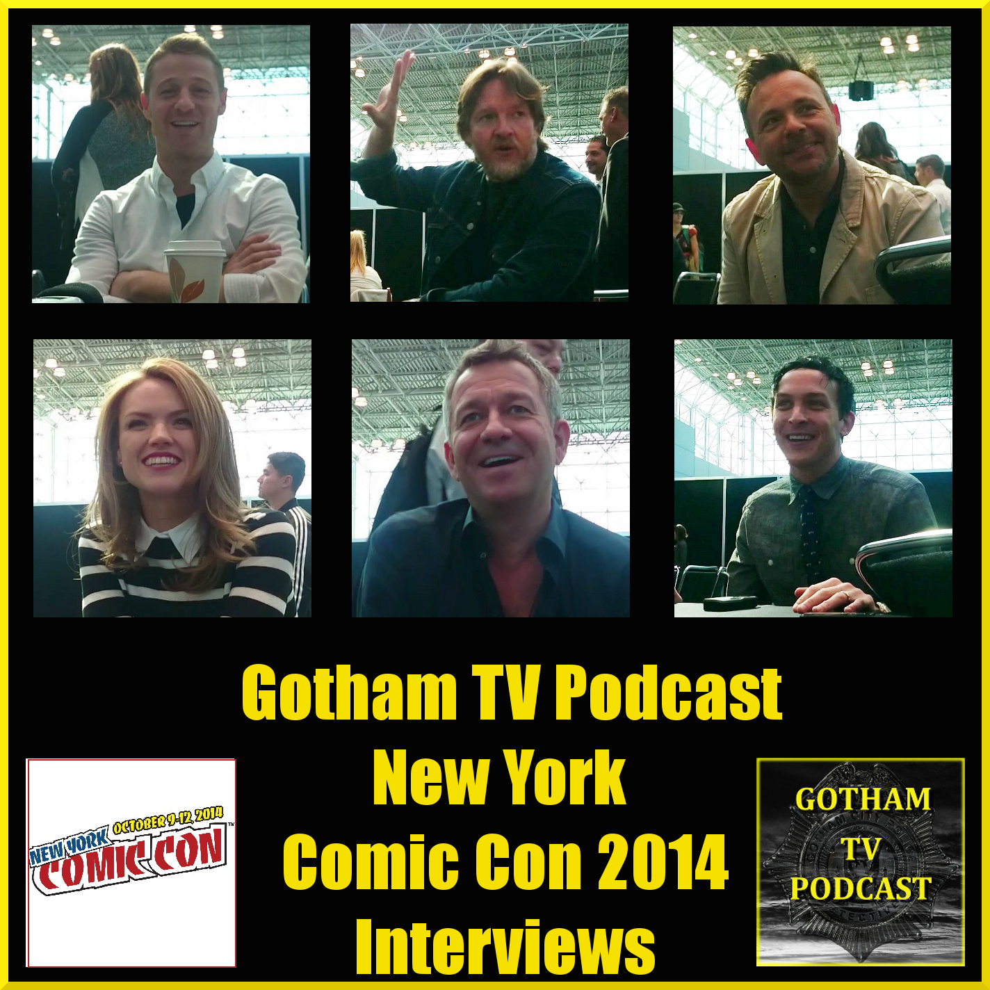 New York Comic Con 2014 Gotham and Constantine Interviews