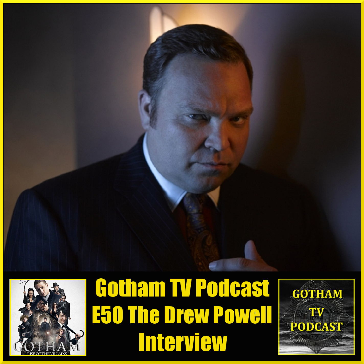 Our interview with Drew Powell - Gotham's Butch Gilzean