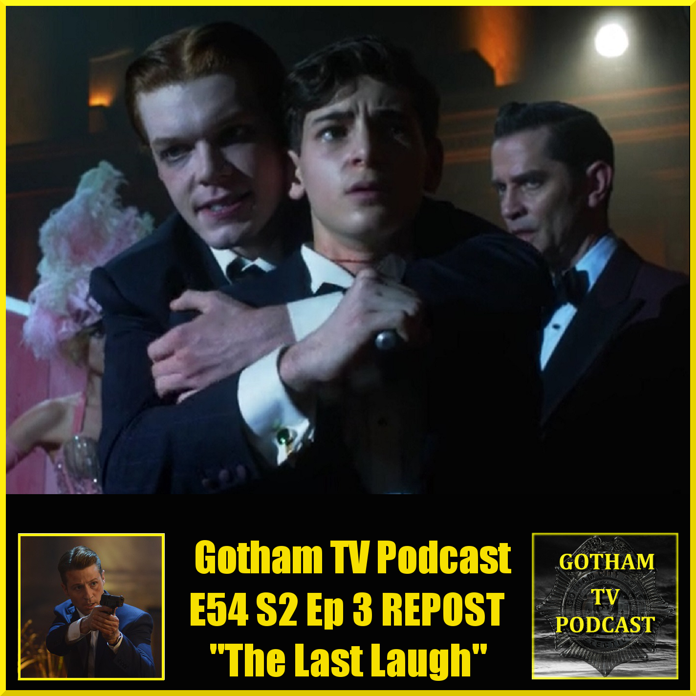 the last laugh The last laugh is the fifteenth episode of the first season of batman: the animated series it's april fool's day and joker unleashes a supply of laughing gas on gotham city, incapacitating its populace and allowing him to steal things at his leisure.