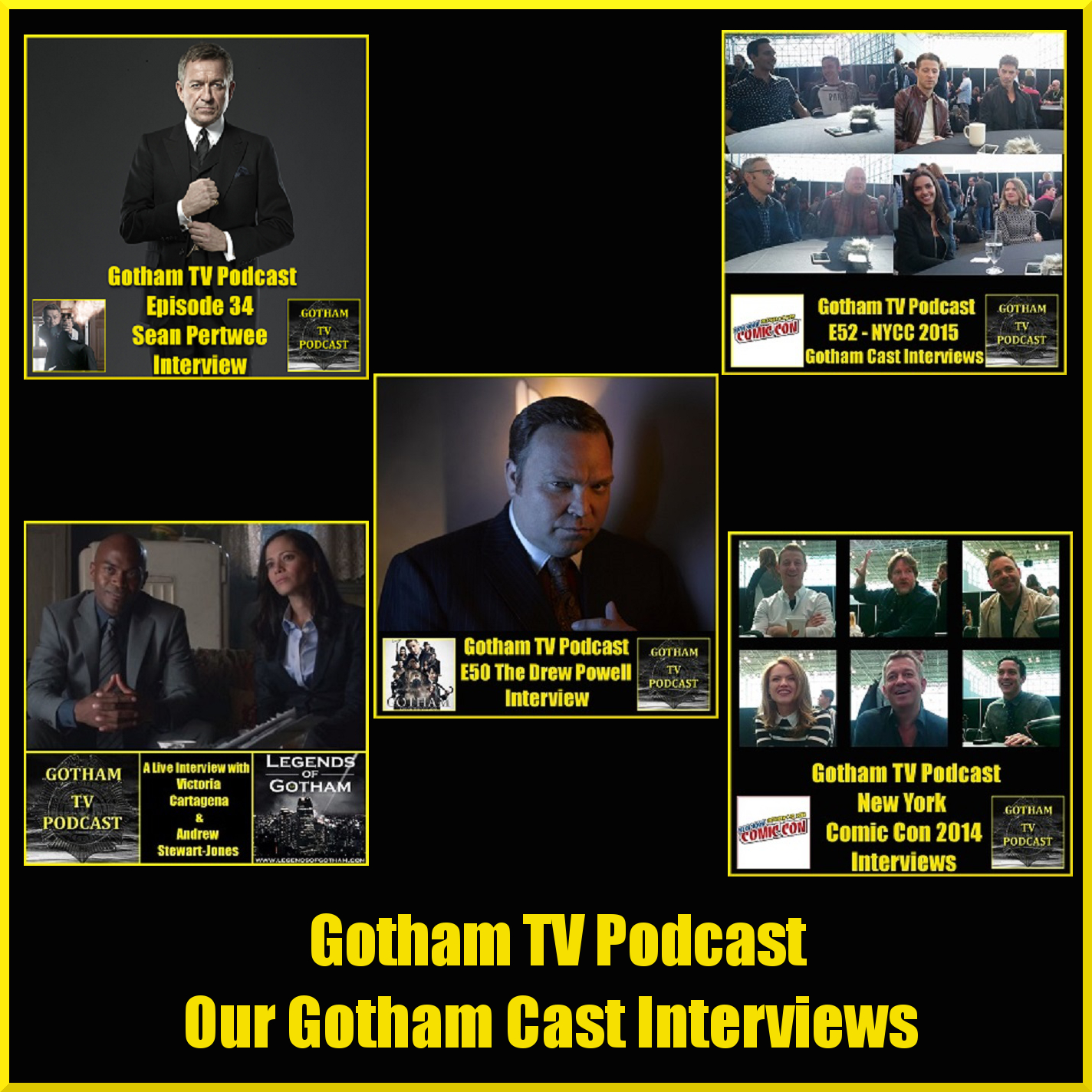 Our Interviews with the cast of Gotham