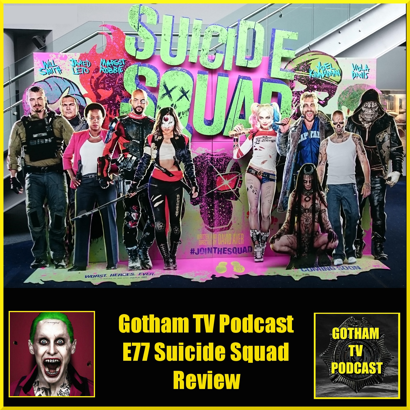 Suicide Squad Review Podcast