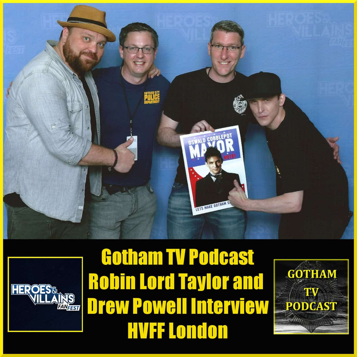 Our interview with Robin Lord Taylor and Drew Powell of Gotham